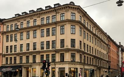 Fönsterbyte för bostadsrättsförening i Stockholm.